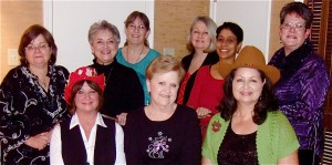 2014 Conference Host Committee, MOSAICO-Houston lead by Sharon Plummer (in hat)