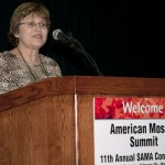 Shug Jones, SAMA President during 2012 General Members Meeting