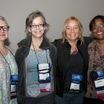 Sherri Warner Hunter, Terri Pulley, Kim Emerson and Yvonne Allen