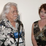 Juror, Arturo Alonzo Salazar and SAMA Executive Director, Dawnmarie Zimmerman