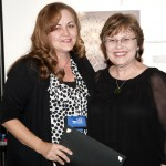 2012 Innovation in Mosaics Awardee, Sally Kinsey and SAMA President Shug Jones