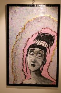 "galleryview: Danit Shmueli, ""Morticia"" 76 cm x 49 cm, Petach Tikvah, Israel."
