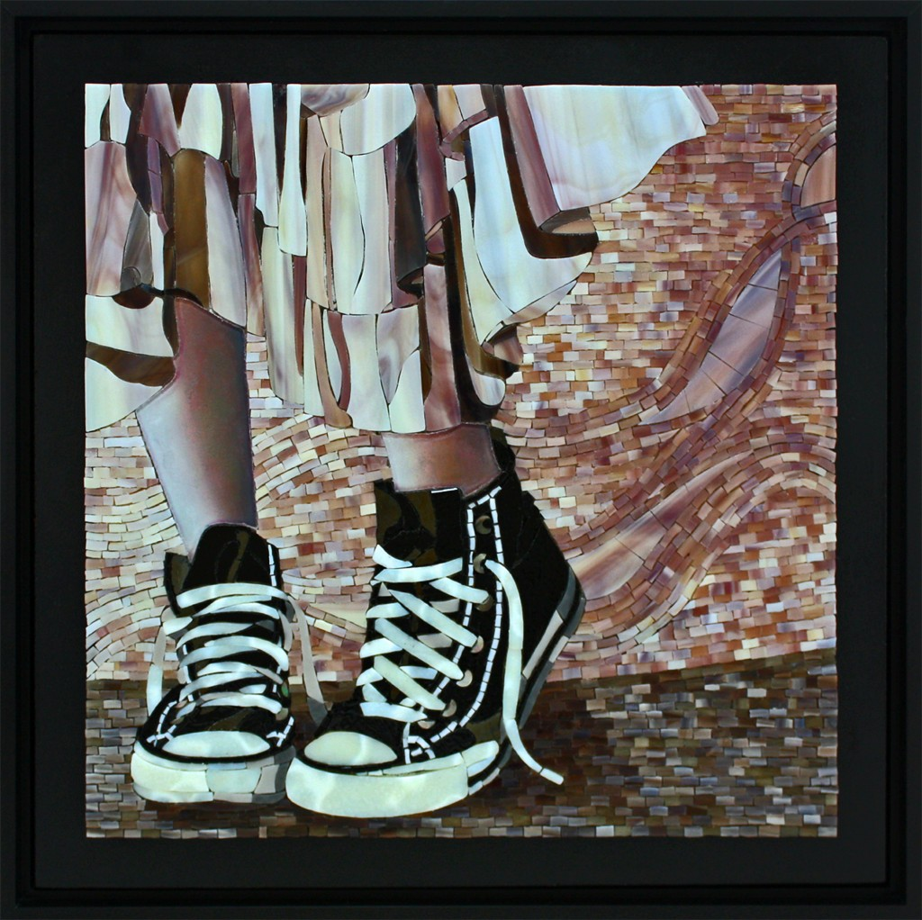 "2012 Best In Show, ""In Her Shoes"" by Lin Schorr"